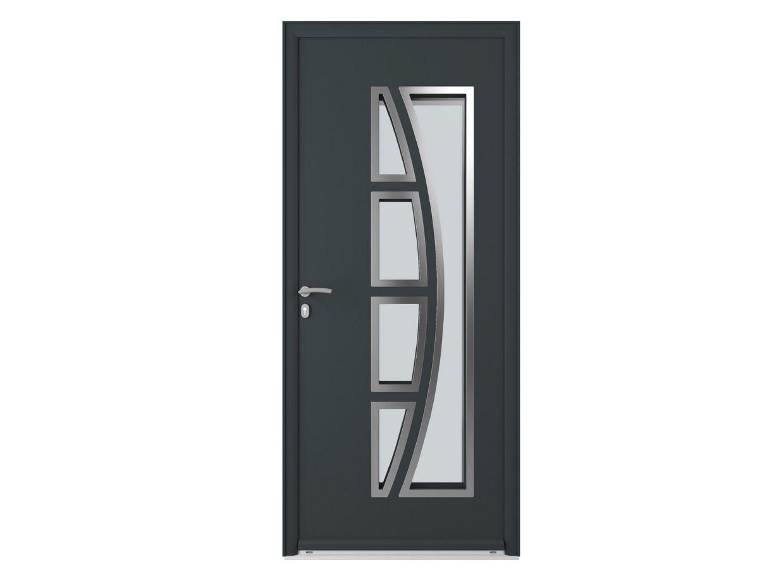 Porte d 39 entr e arizona aluminium portes for Porte d entree alu lapeyre