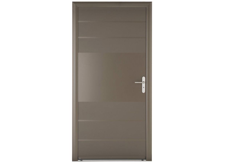 Porte d 39 entr e toronto aluminium portes - Porte entree alu lapeyre ...