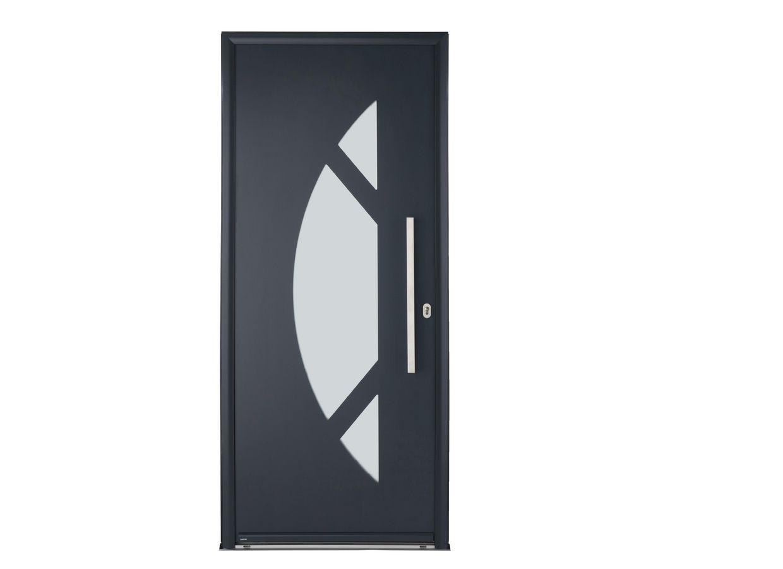 Porte d 39 entr e hudson aluminium portes for Porte entree aluminium lapeyre