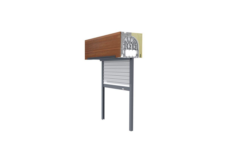 coffre tunnel terre cuite avec volet roulant confort. Black Bedroom Furniture Sets. Home Design Ideas