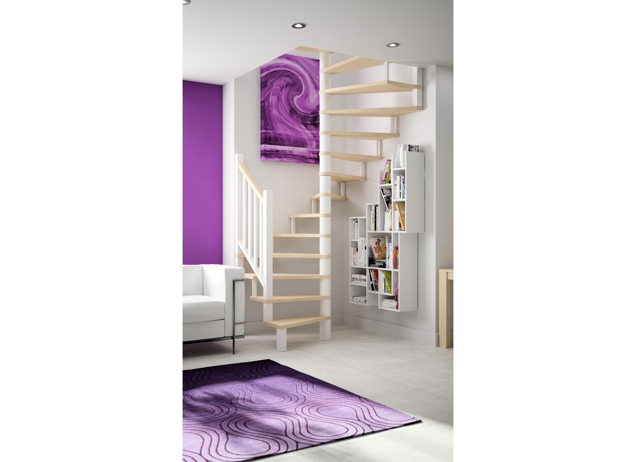 escalier h lico dal chorus escaliers. Black Bedroom Furniture Sets. Home Design Ideas