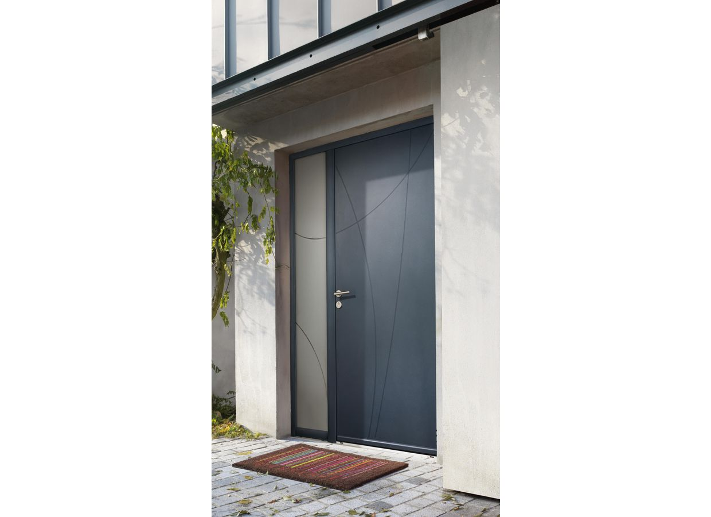 porte d 39 entr e eiffel aluminium portes. Black Bedroom Furniture Sets. Home Design Ideas