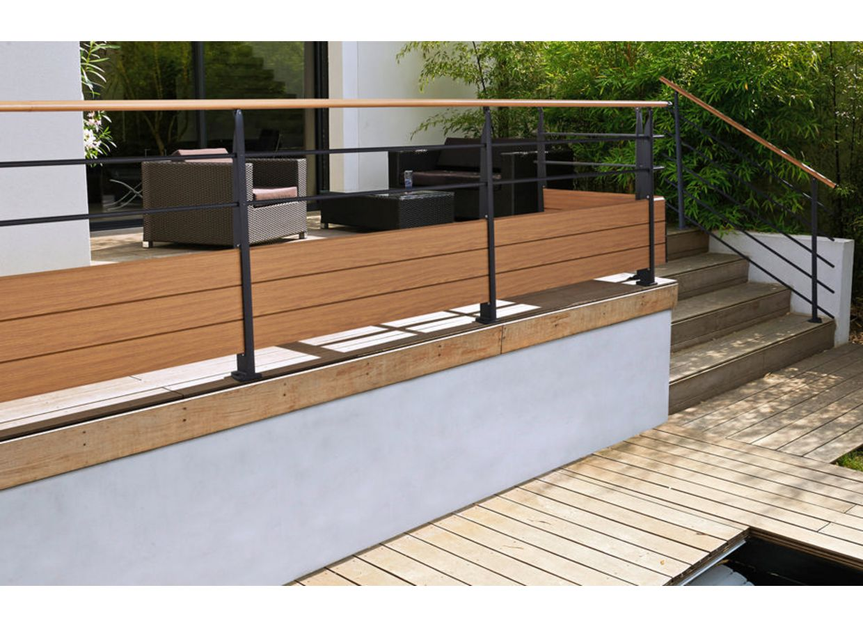 Balustrade edo en aluminium ext rieur for Balustrade aluminium exterieur