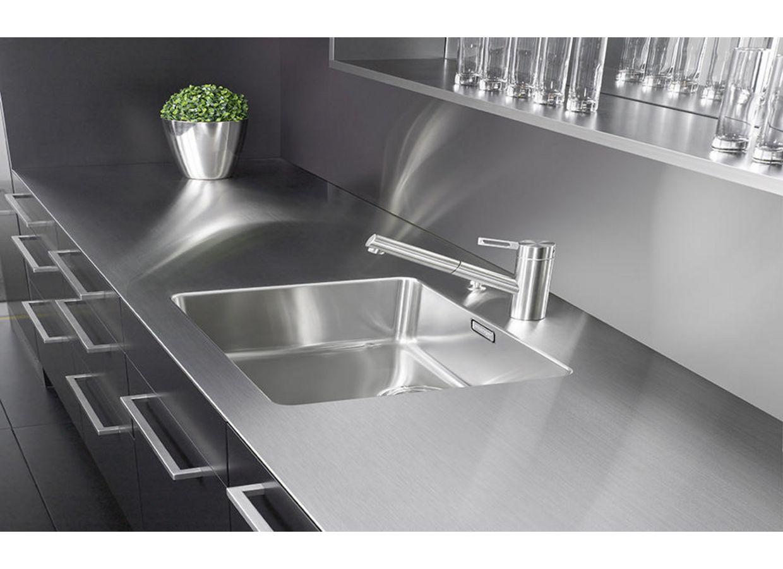 cr dence inox sur mesure cuisine. Black Bedroom Furniture Sets. Home Design Ideas