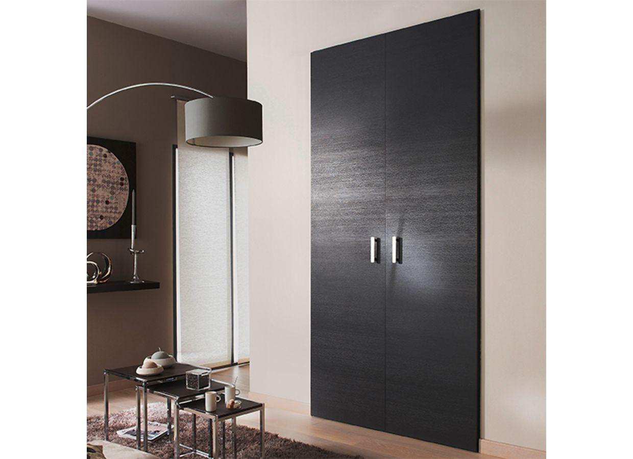 porte de placard pliante reve placage ch ne rangements. Black Bedroom Furniture Sets. Home Design Ideas