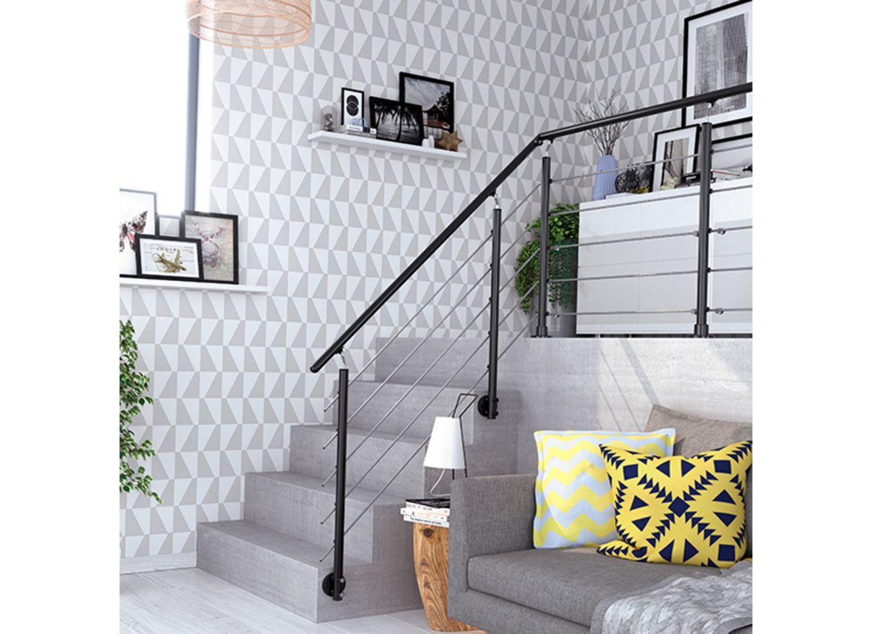 Balustrade en aluminium rondo escaliers for Main courante lapeyre