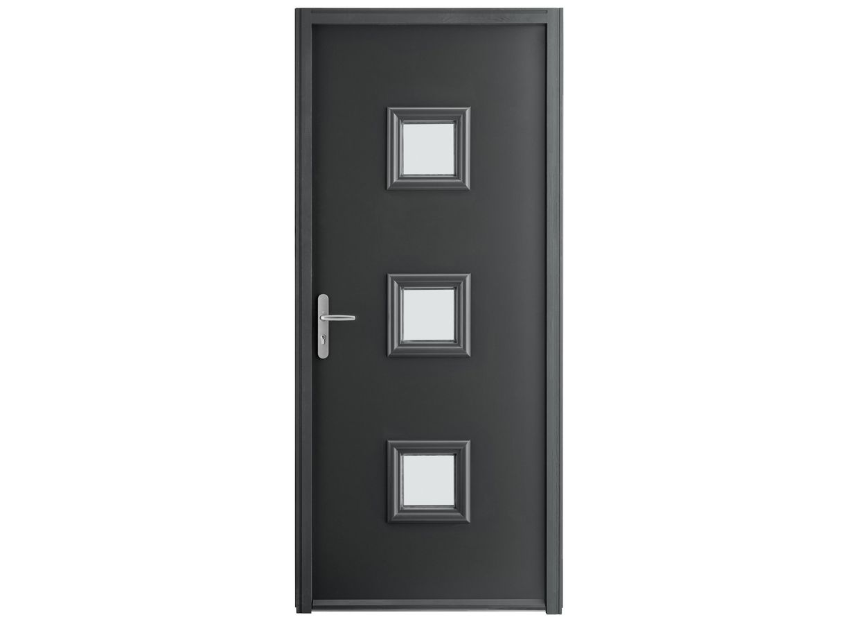porte d 39 entr e naos acier portes. Black Bedroom Furniture Sets. Home Design Ideas