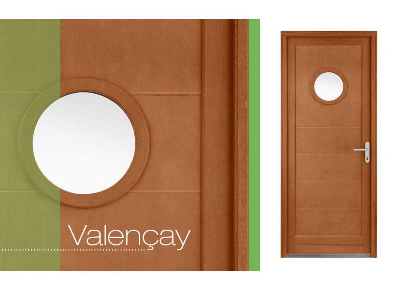 porte de service valencay hublot bois exotique 2 toiles. Black Bedroom Furniture Sets. Home Design Ideas