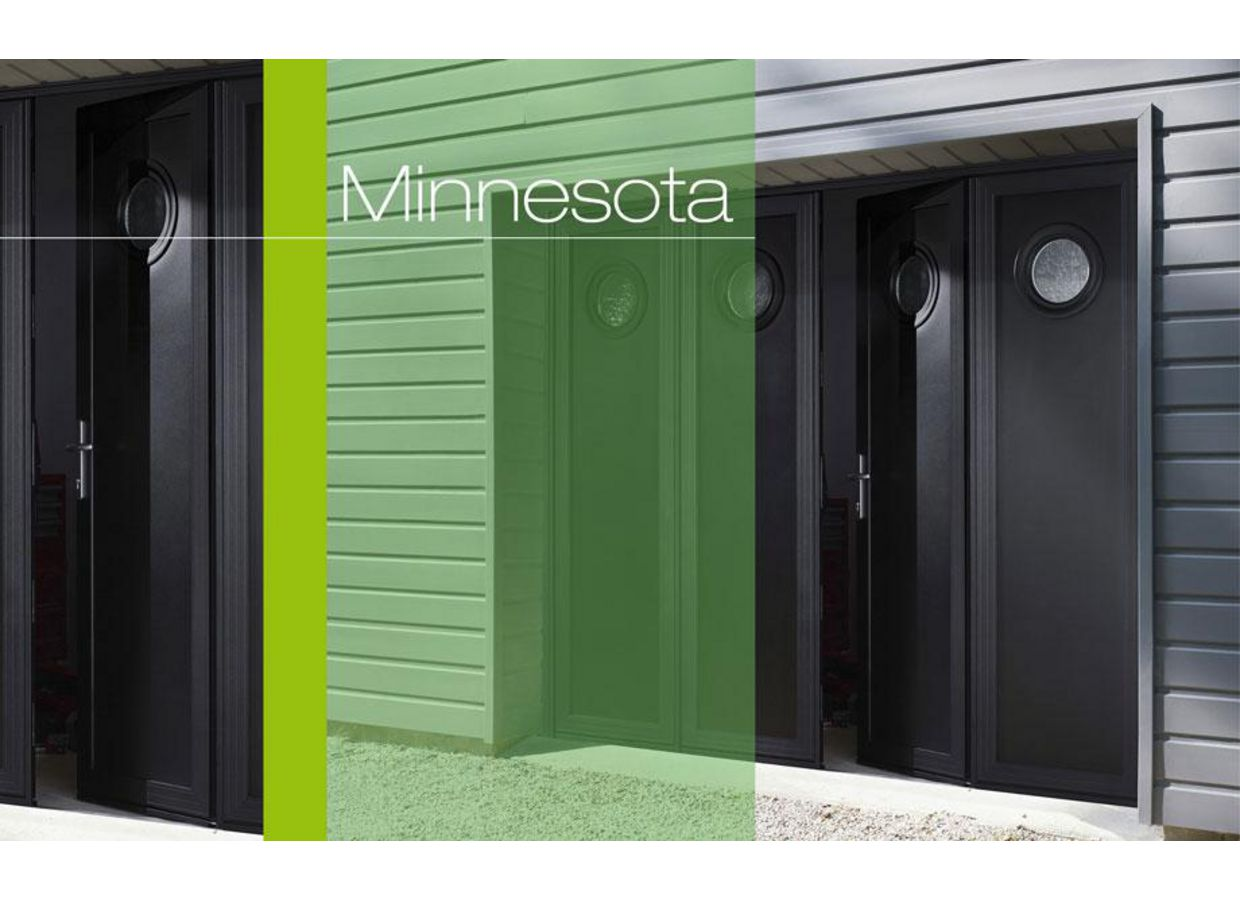 porte de garage minnesota pliante aluminium ext rieur. Black Bedroom Furniture Sets. Home Design Ideas