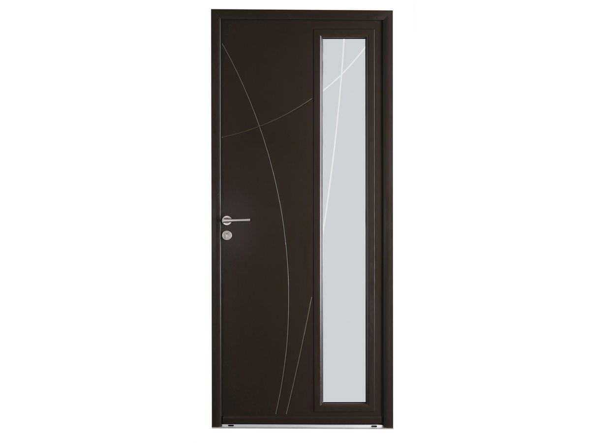 porte d 39 entr e wisteria aluminium portes. Black Bedroom Furniture Sets. Home Design Ideas