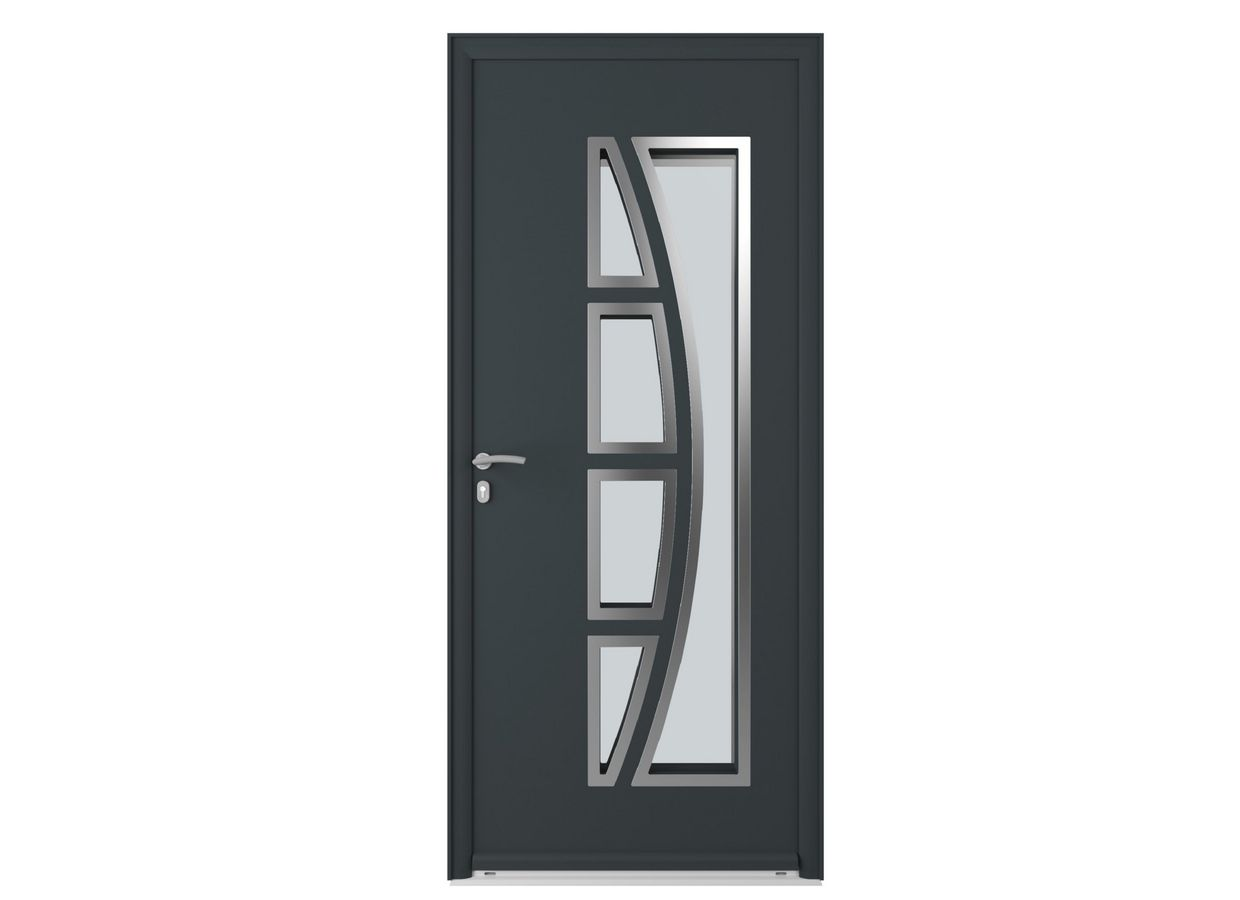 porte d 39 entr e arizona aluminium portes. Black Bedroom Furniture Sets. Home Design Ideas