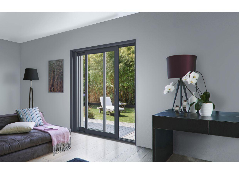baie vitre 4 vantaux amazing baie coulissante alu baignoire avec porte pas cher volet roulant. Black Bedroom Furniture Sets. Home Design Ideas
