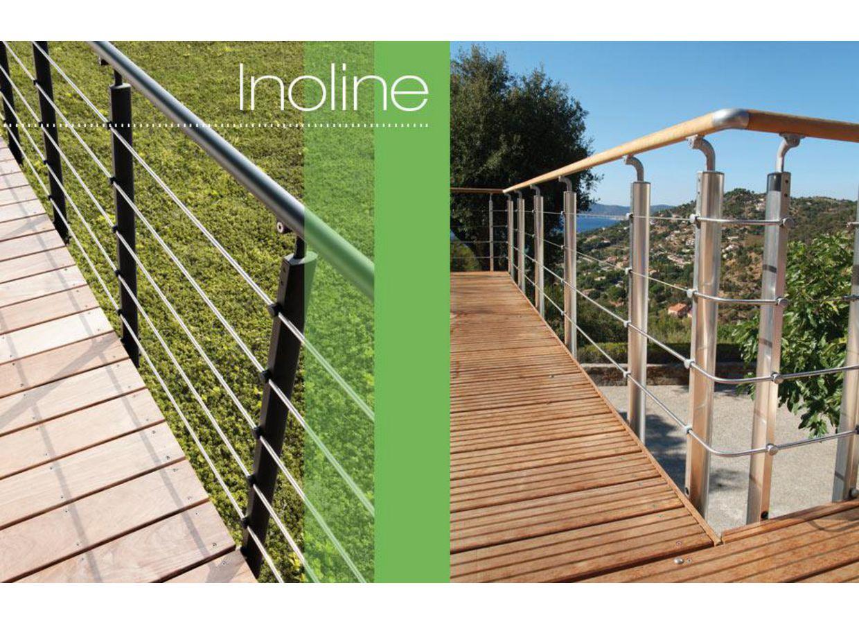 Balustrade aluminium inoline ext rieur - Lapeyre balustrade bois ...