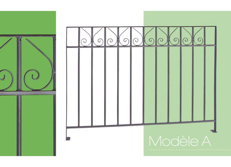 balustrade acier modele a ext rieur. Black Bedroom Furniture Sets. Home Design Ideas