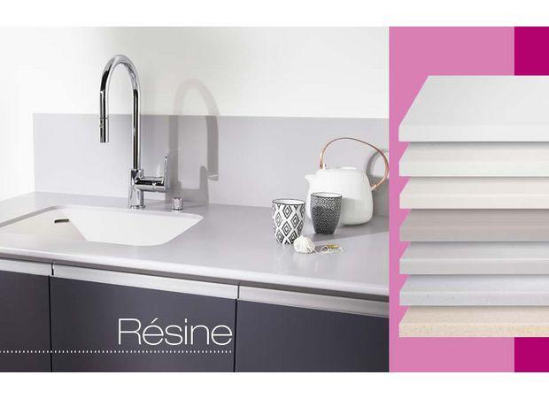plan de travail r sine sur mesure cuisine. Black Bedroom Furniture Sets. Home Design Ideas