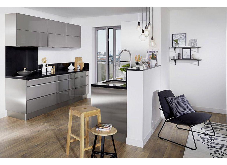 Cuisine en bois lapeyre - Facade meuble cuisine lapeyre ...