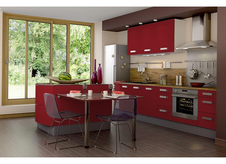Cuisine tandem cuisine - Facade meuble cuisine lapeyre ...