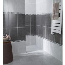 Carrelage de salle de bains sols et murs lapeyre for Carrelage salle de bain lapeyre
