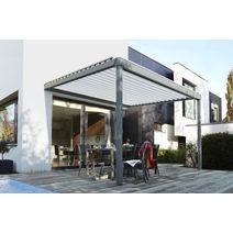 les stores bannes et les toits de terrasse. Black Bedroom Furniture Sets. Home Design Ideas