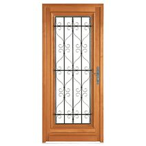 Les portes d entr e en bois - Porte d entree bois lapeyre ...