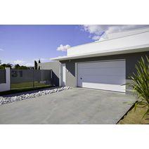 Portes de garage sectionnelles portes lapeyre for Porte de garage sur mesure lapeyre