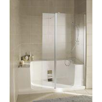 concept de remplacement de baignoire salle de bains. Black Bedroom Furniture Sets. Home Design Ideas