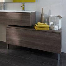 Meubles de salle de bains salle de bains lapeyre - Miroir a poser au sol ...