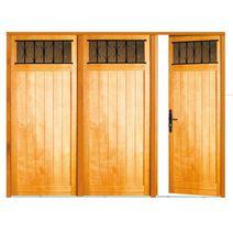 Portes de garage ext rieur lapeyre for Porte pliante bois