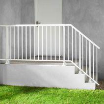 Balustrades ext rieures ext rieur lapeyre for Escalier exterieur plastique