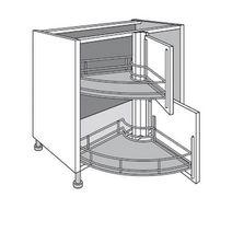 panier tournant pour meuble cuisine elegant meuble de cuisine duangle bas twister twist with
