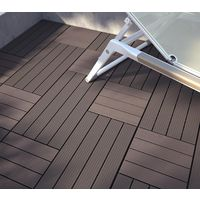 dalle de terrasse bois composite pose clipser