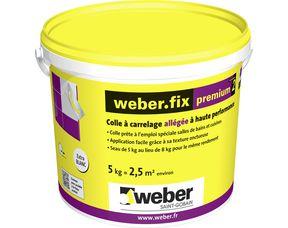 Colle En Pâte Weber Fix Premium2 Pour Carrelage
