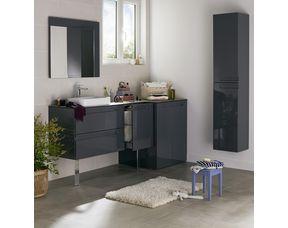 Pieds pour meuble de salle de bains Infiny et Edda