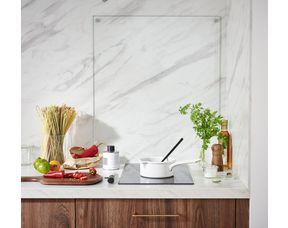 Fond De Hotte En Verre Transparent Cuisine Lapeyre