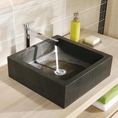 Vasque poser stone salle de bains - Plan de travail pour lavabo ...