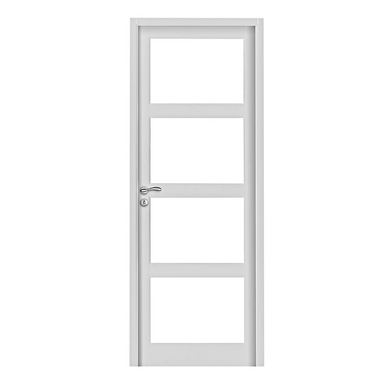 vitrage pour porte milan pr t peindre transparent portes. Black Bedroom Furniture Sets. Home Design Ideas