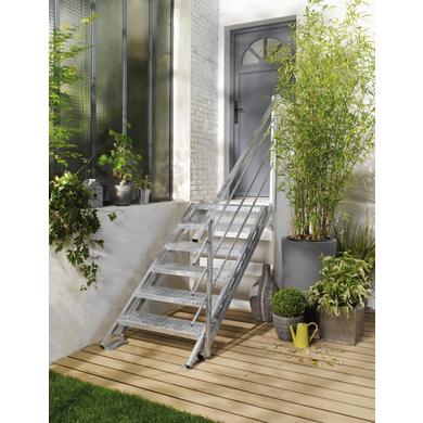 Escalier extérieur New York Acier galvanisé - Escaliers