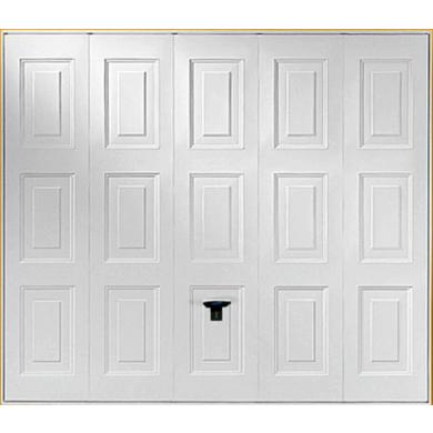 Porte de garage ottawa basculante sans portillon ext rieur - Lapeyre porte de garage ...