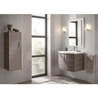 Meubles sous vasque seul cm dune salle de bains for Meuble sous vasque 70 cm