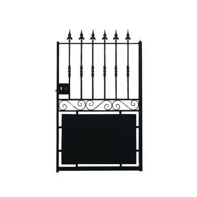 portillon acier dampierre avec festonnage ext rieur. Black Bedroom Furniture Sets. Home Design Ideas