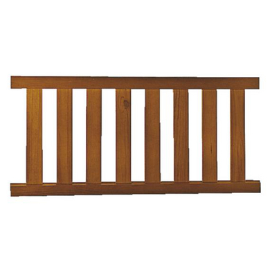 Trav e bois style ext rieur - Lapeyre balustrade bois ...