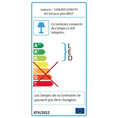 Kit LED BRUT - Lapeyre