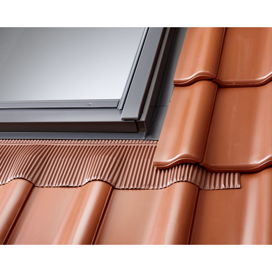Raccord Velux EDW pose traditionnelle sur tuiles - Fenêtres
