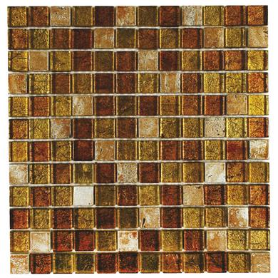 Carrelage mosa que languedoc 2 5 x 2 5 cm trame 30 x 30 cm sols murs Lapeyre carrelage mosaique