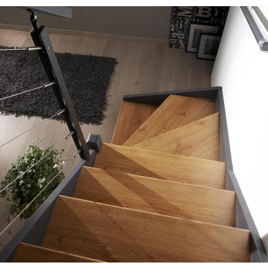 Profil alu pour r novation de marche pali re escaliers - Kit renovation escalier ...