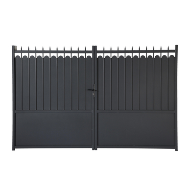 portail battant aluminium adaggio ext rieur. Black Bedroom Furniture Sets. Home Design Ideas