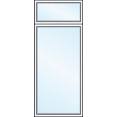 Imposte vitr e classic pin fen tres for Fenetre imposte fixe