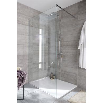 Paroi de douche grand espace line prestige salle de bains - Douche sans faience ...