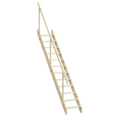 Echelle de meunier sapin massif h 272 cm escaliers - Escalier de meunier ...
