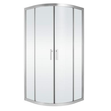 Acc s d 39 angle arrondis par portes coulissantes 2 portes vogue salle de bains - Porte de douche coulissante arrondie ...